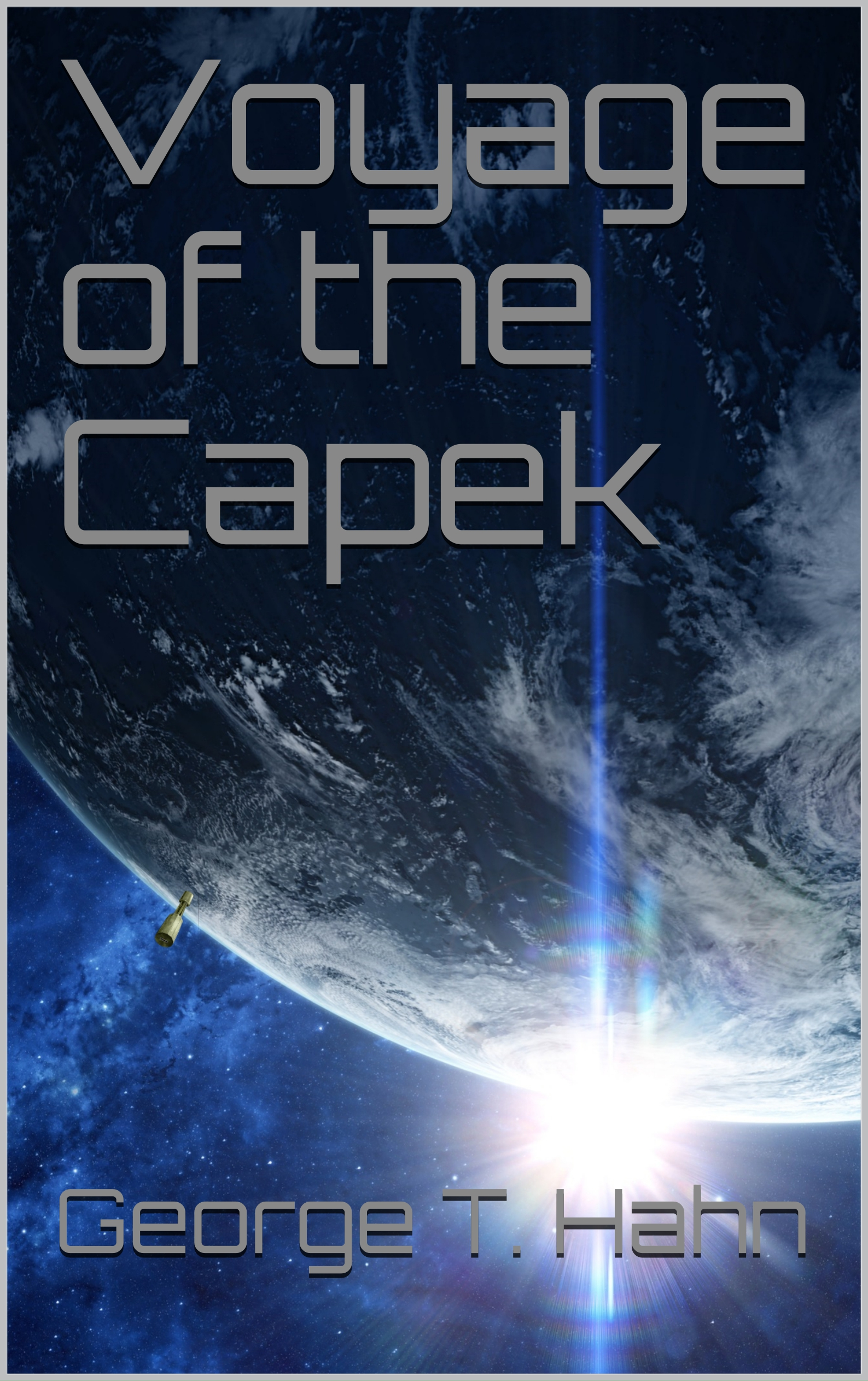 Voyage of the Capek Cover
